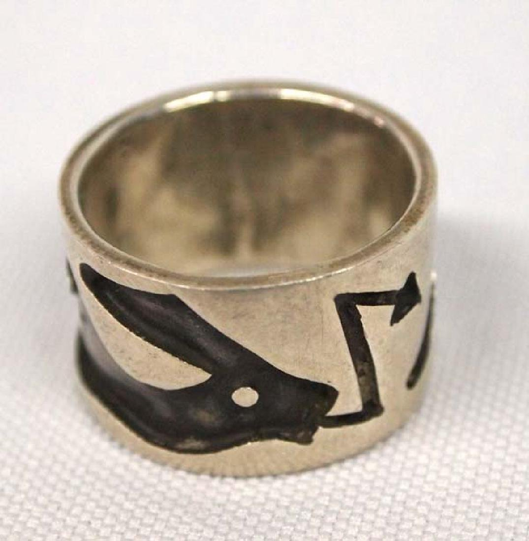 Navajo Sterling Silver Ring, Size 7, S&H $6.50