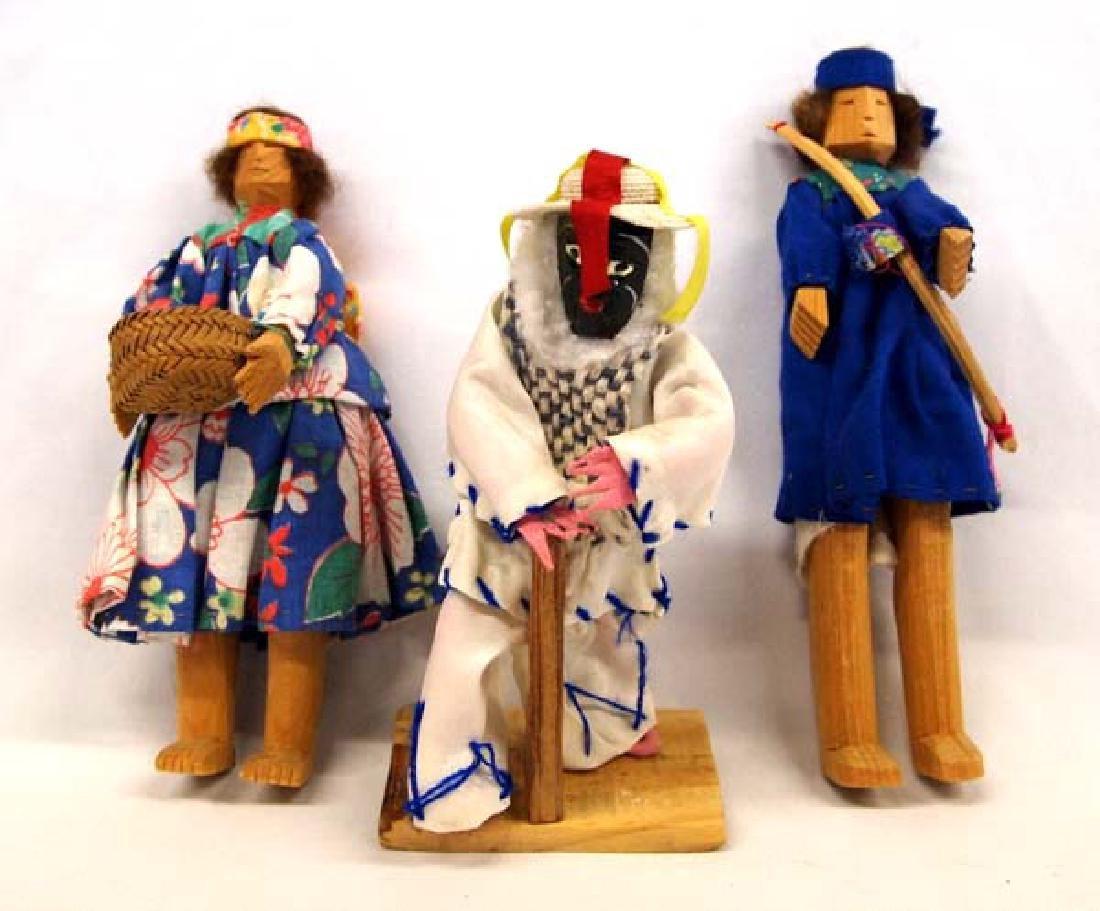 3 Mexican Dolls, 7''Longest, $6.50 S&H