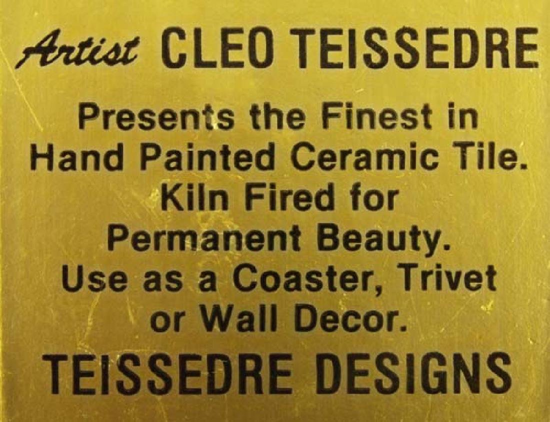 Teissedre Tile, 4''Square, $6.50 S&H - 2