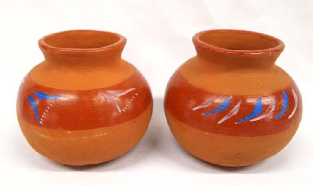 2 Mexican Redware Bowls, 5''D, $14.00 S&H
