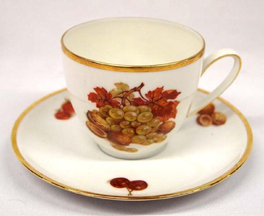 German Porcelain Cup & Saucer, 5.5''D, $14.00 S&H