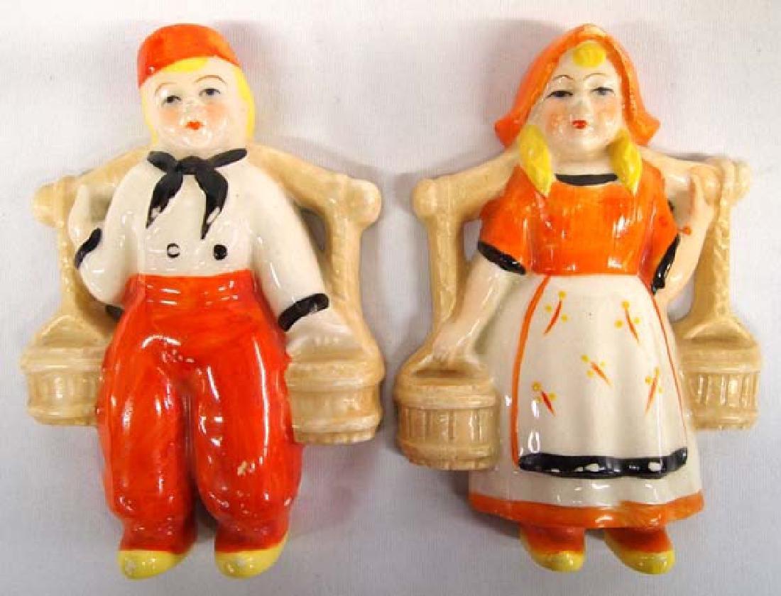 Occupied Japan Pottery Figures, 6''L, $6.50 S&H