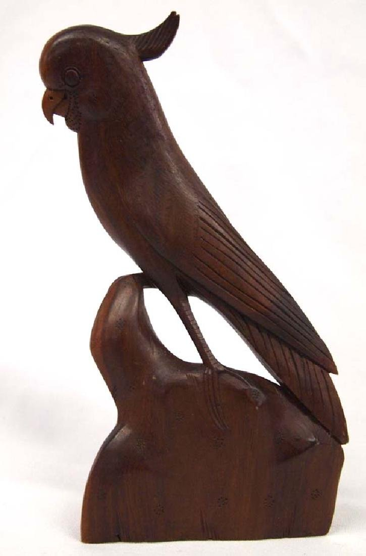 Carved Wood Cockatoo, 12''H, $6.50 S&H - 2