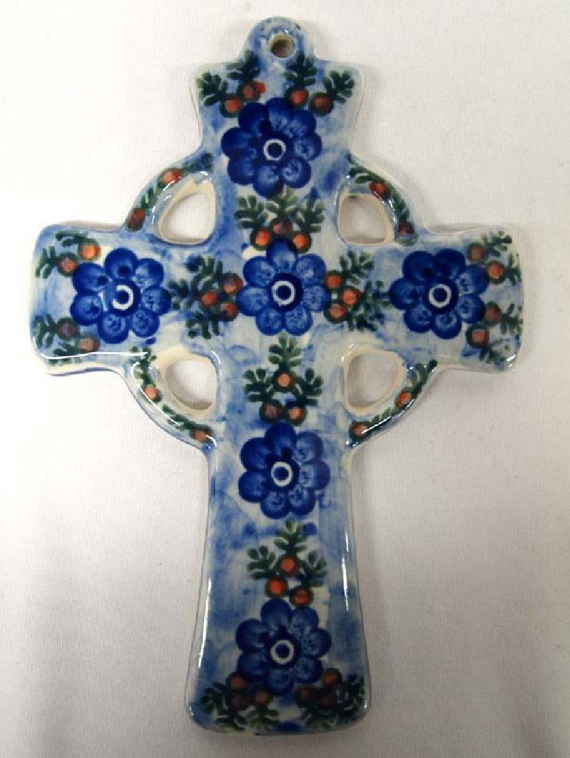 Polish Ceramic Cross, 8''L, $6.50 S&H