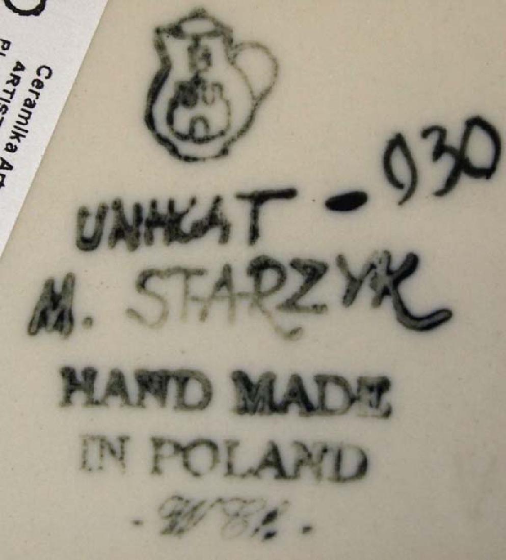 2 Polish Pottery Bowls, 3'' x 7'', $14 S&H - 2