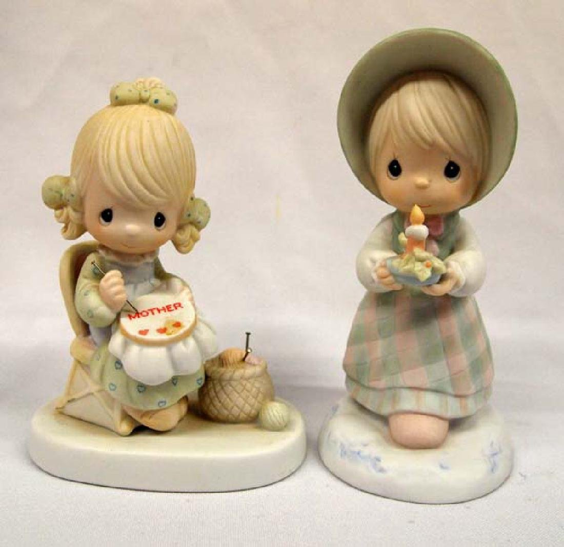 2 Precious Moments Figurines, 6''H, $14.00 S&H