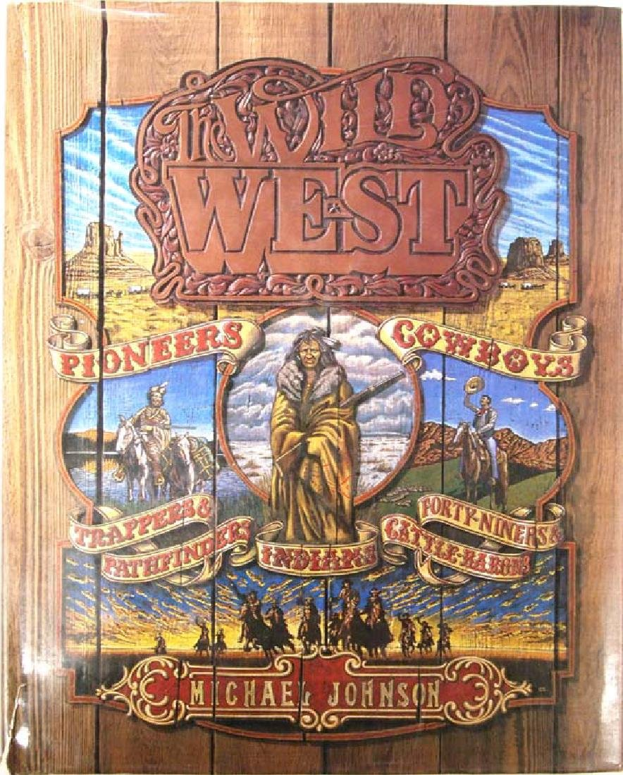 Hardback Book on the West, 12'', $6.50 S&H
