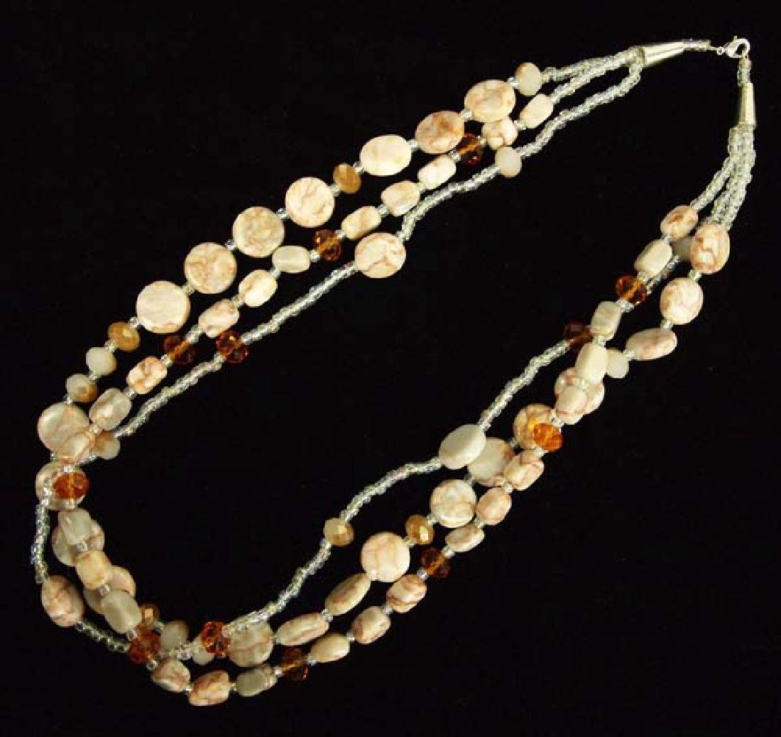 Beaded Necklace, 23''L, $6.50 S&H