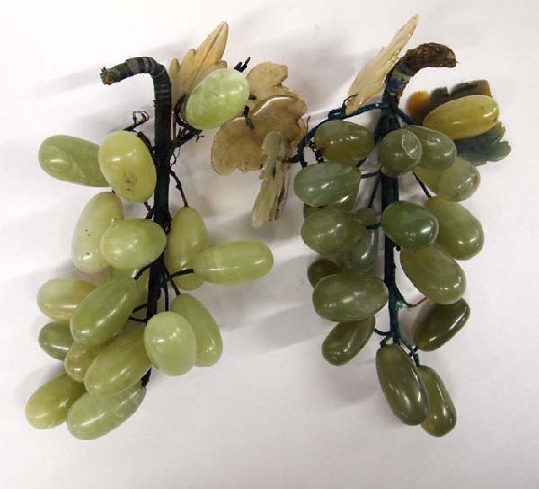 Jadeite Grape Clusters, 8''L, $12.50 S&H
