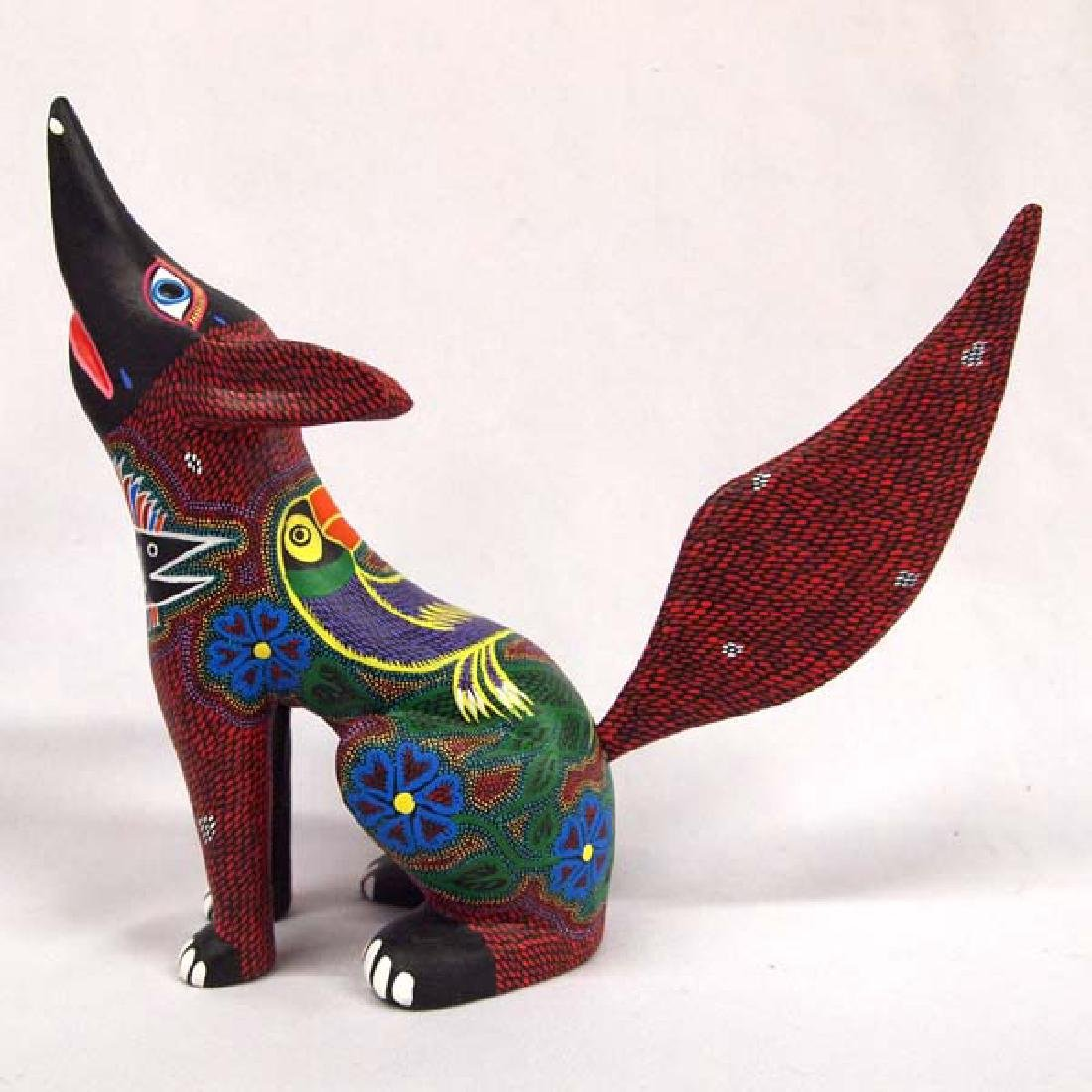 Mexican Oaxacan Alebrije Coyote by R. S. Arrazola