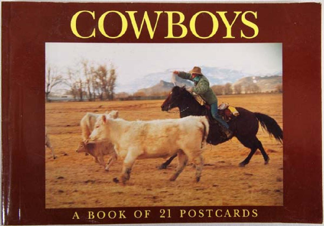 Cowboys: A Book of 21 Postcards