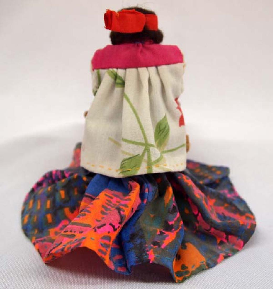 Tarahumara Wood and Cloth Weaver Doll - 3