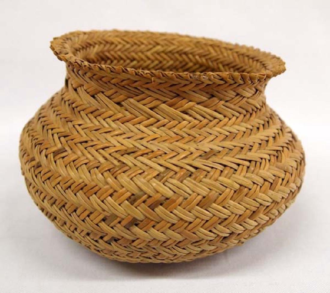 Native American Choctaw Basket