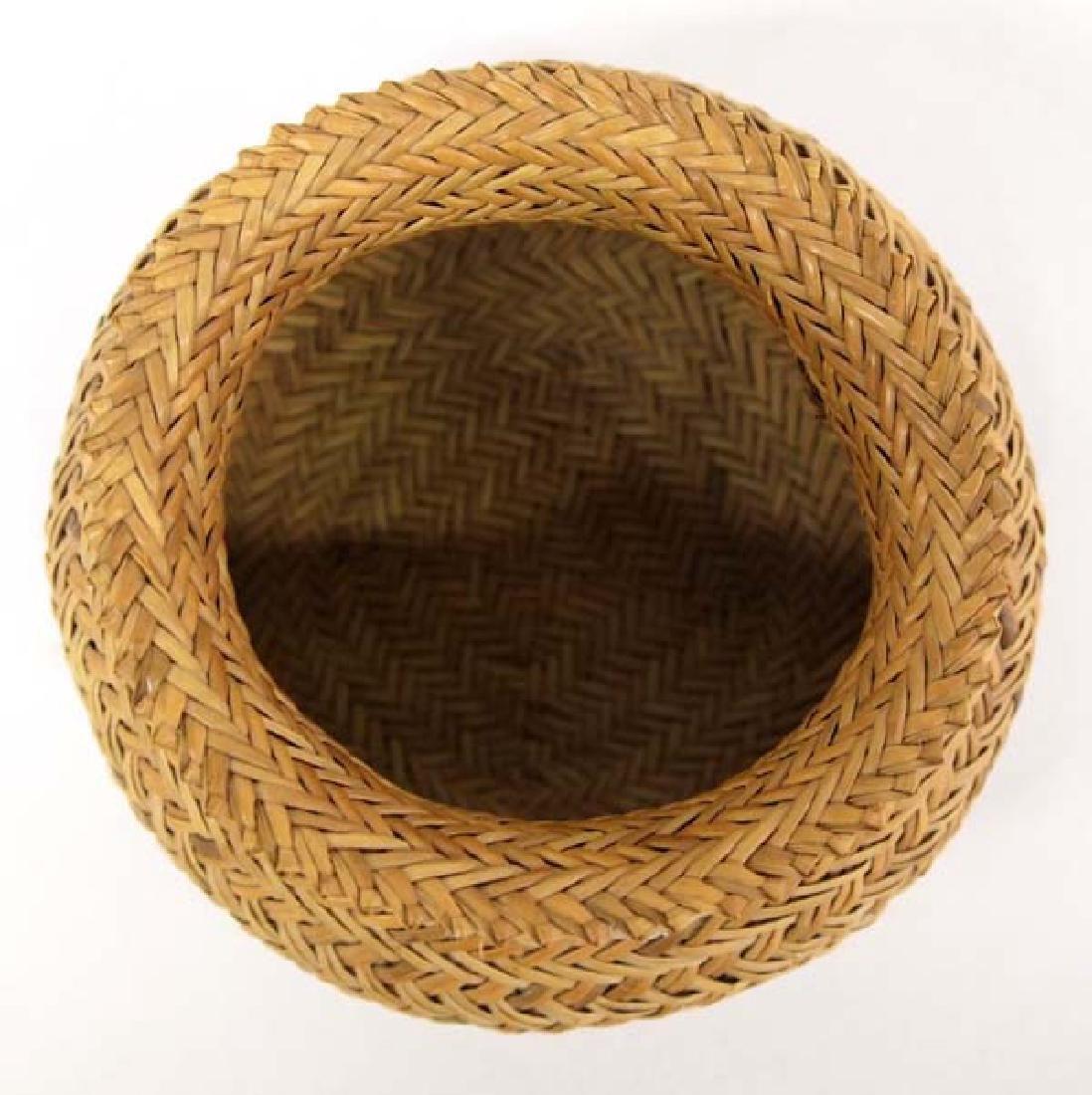 Native American Choctaw Basket - 2