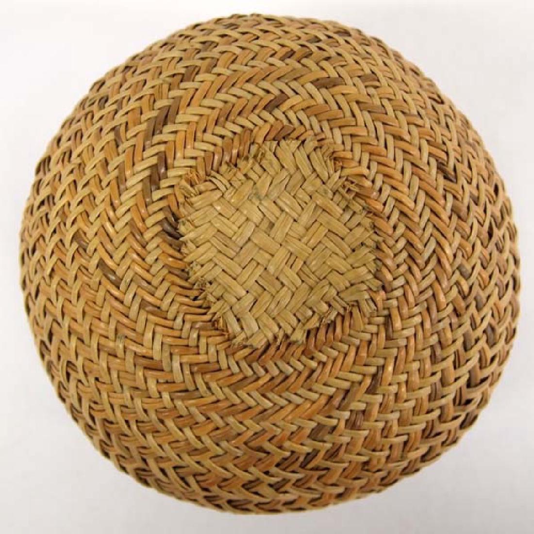 Native American Choctaw Basket - 3
