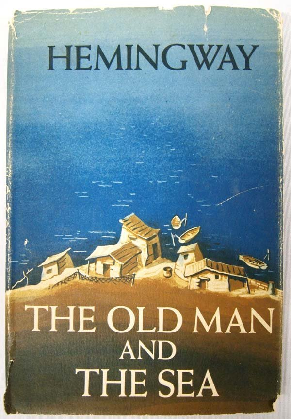 1st Edition The Old Man and the Sea by Hemingway