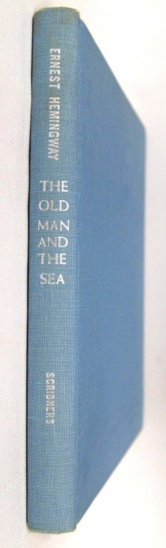 1st Edition The Old Man and the Sea by Hemingway - 7