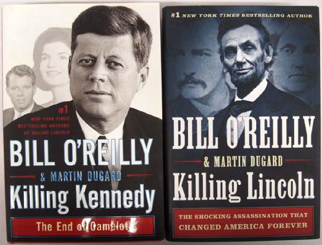 2 Hardback Bill O'Reilly Books