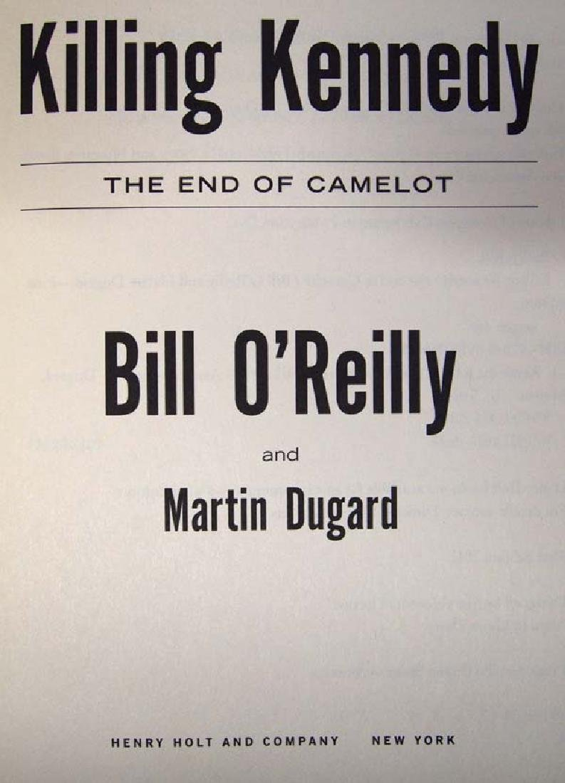 2 Hardback Bill O'Reilly Books - 2