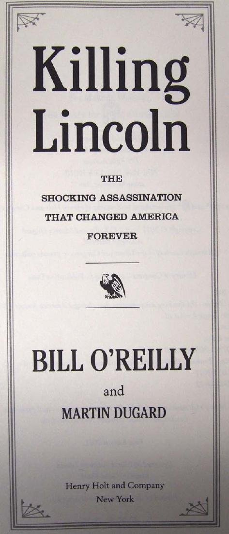 2 Hardback Bill O'Reilly Books - 4