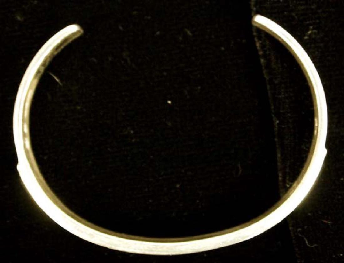 Navajo 14K Gold on Silver Storyteller Bracelet - 3