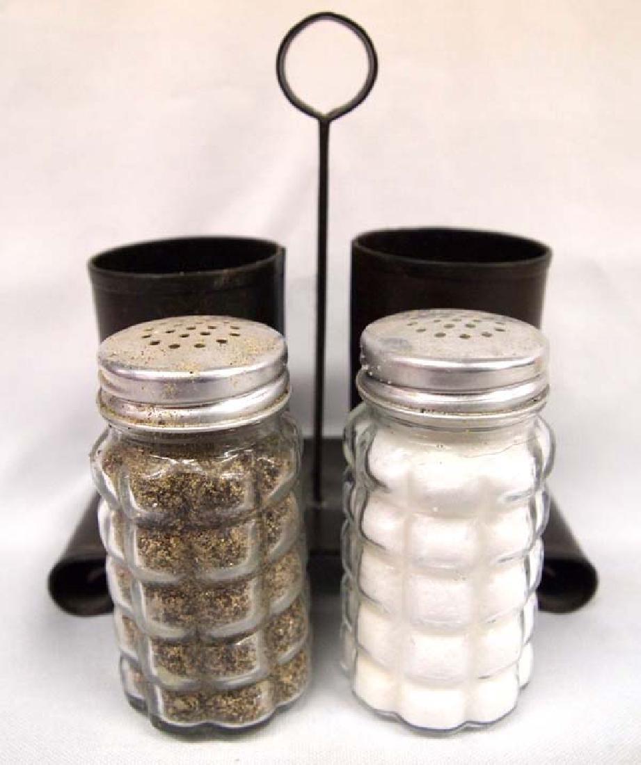 4 Sets of Western Salt & Pepper Shakers - 5