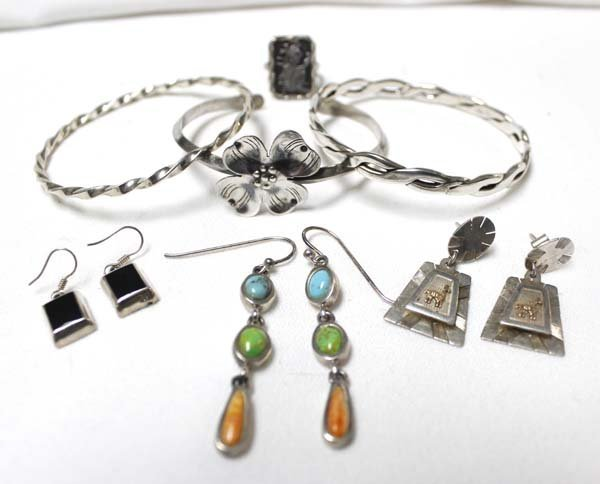 Collection of Sterling Silver Jewelry - 2