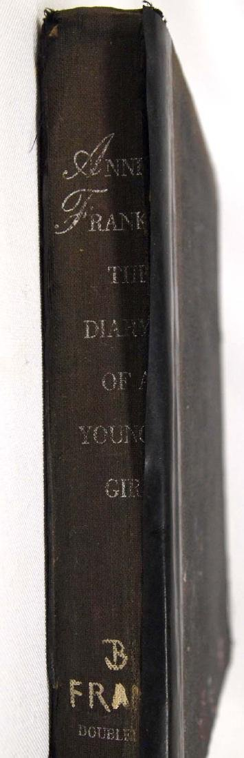 1952 1st Edition Ann Frank Diary of a Young Girl