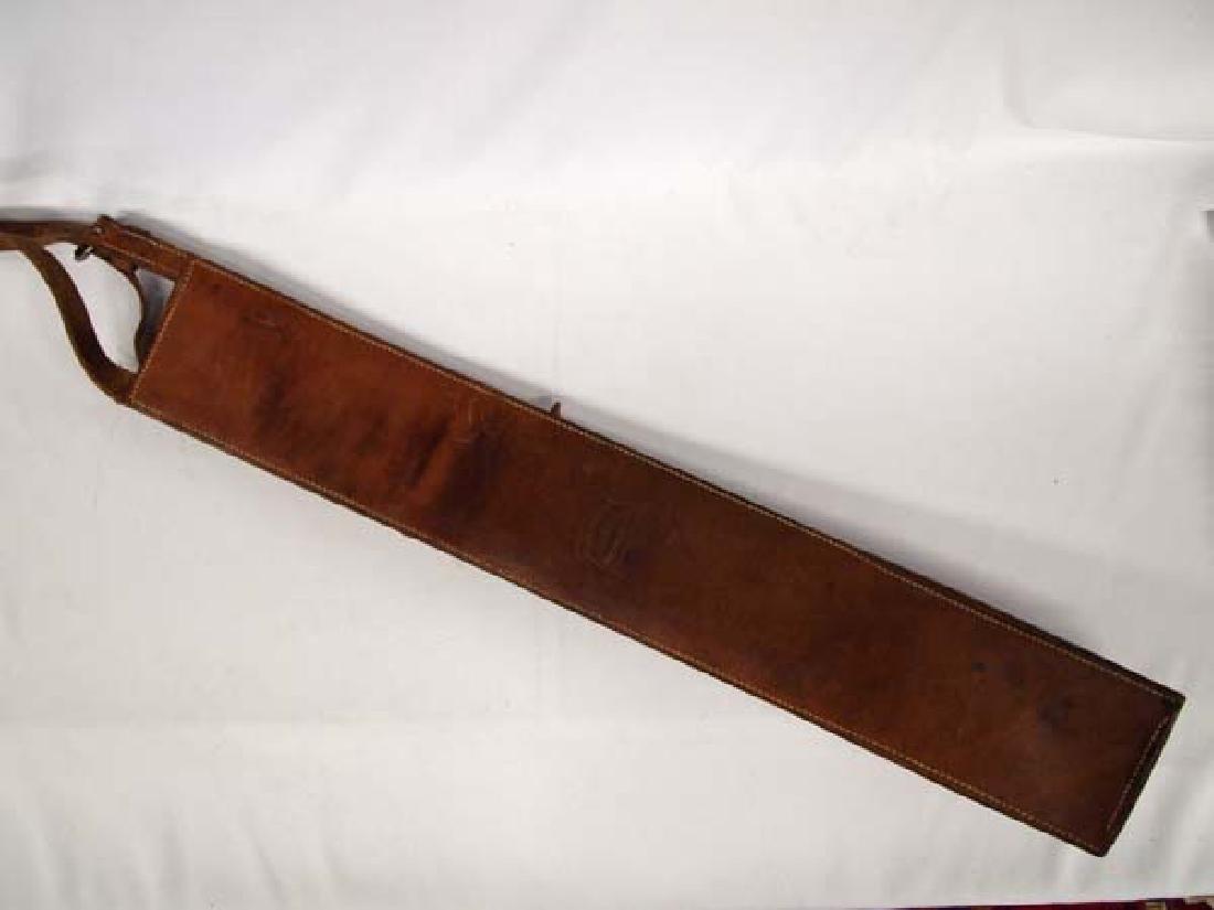 Large Edward H. Bohlin Leather Flag Holder - 2