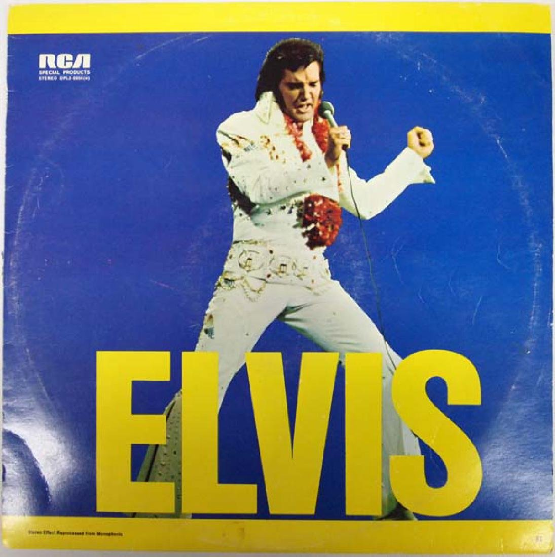 1973 RCA Elvis 33 RPM Vinyl Record Album