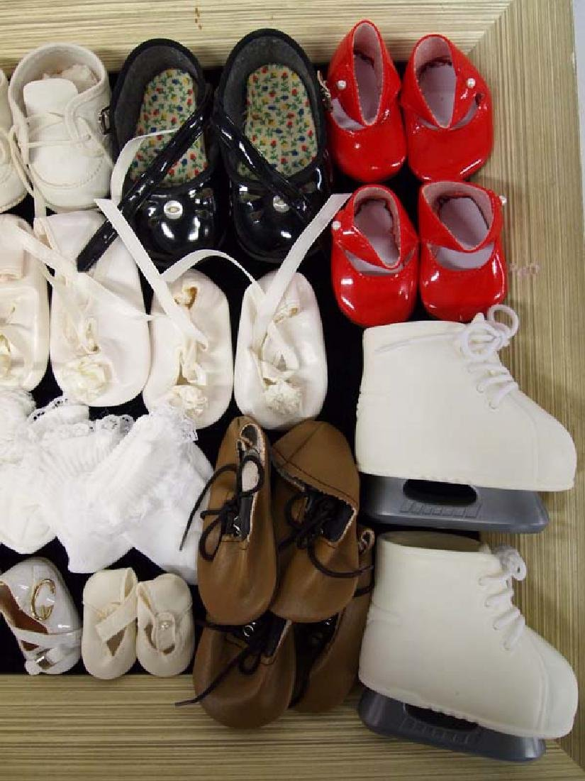 Large Collection of Doll's Shoes - 3
