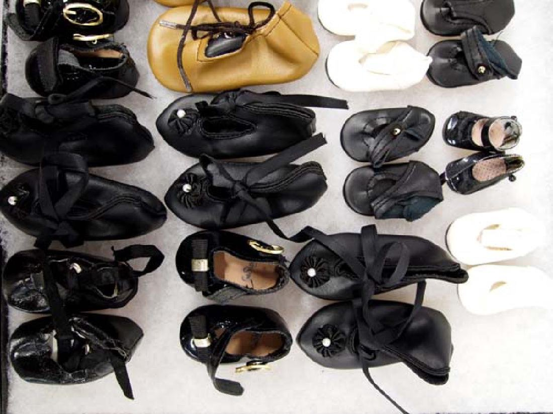 Large Collection of Doll's Shoes - 6