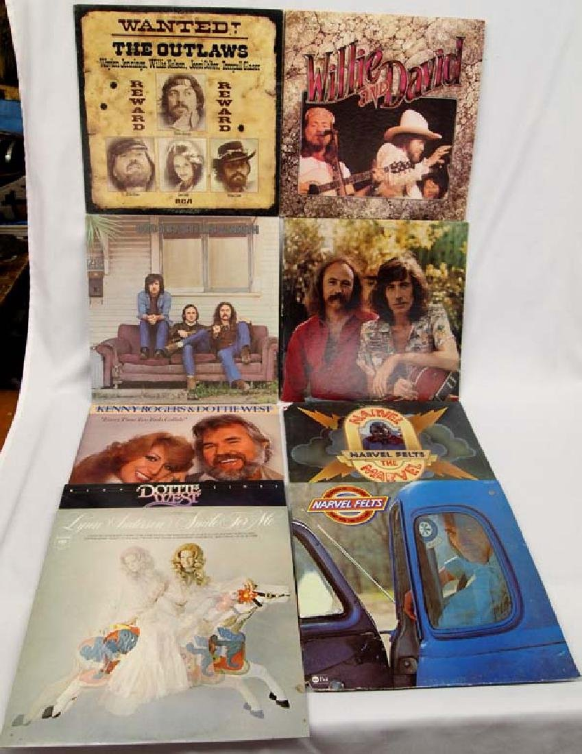 Collection of 33 RPM Vinyl Albums