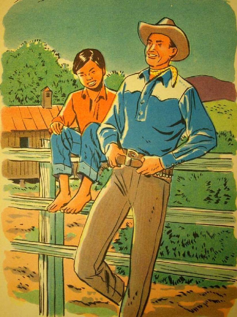 2 Vintage Cowboy Western Books - 2
