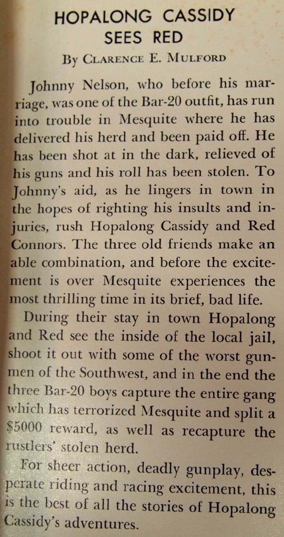 2 Vintage Cowboy Western Books - 3