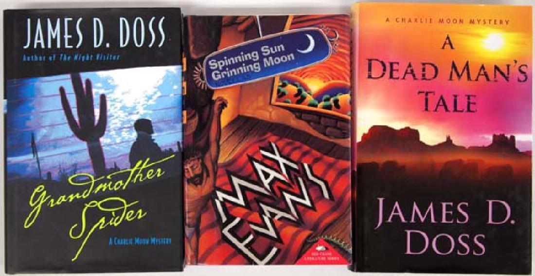 3 Hardback Mystery Books