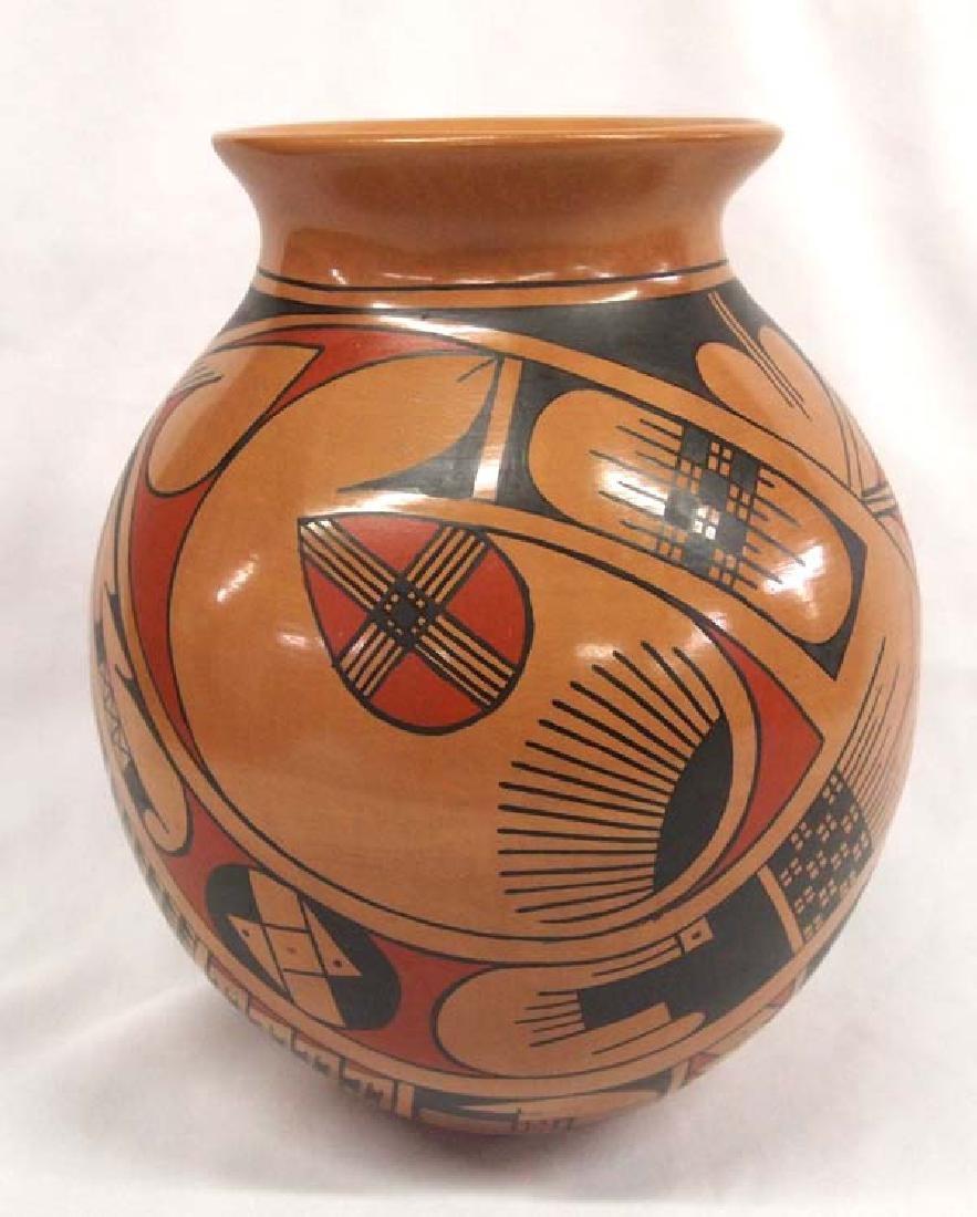 Mexican Mata Ortiz Polychrome Pottery Jar