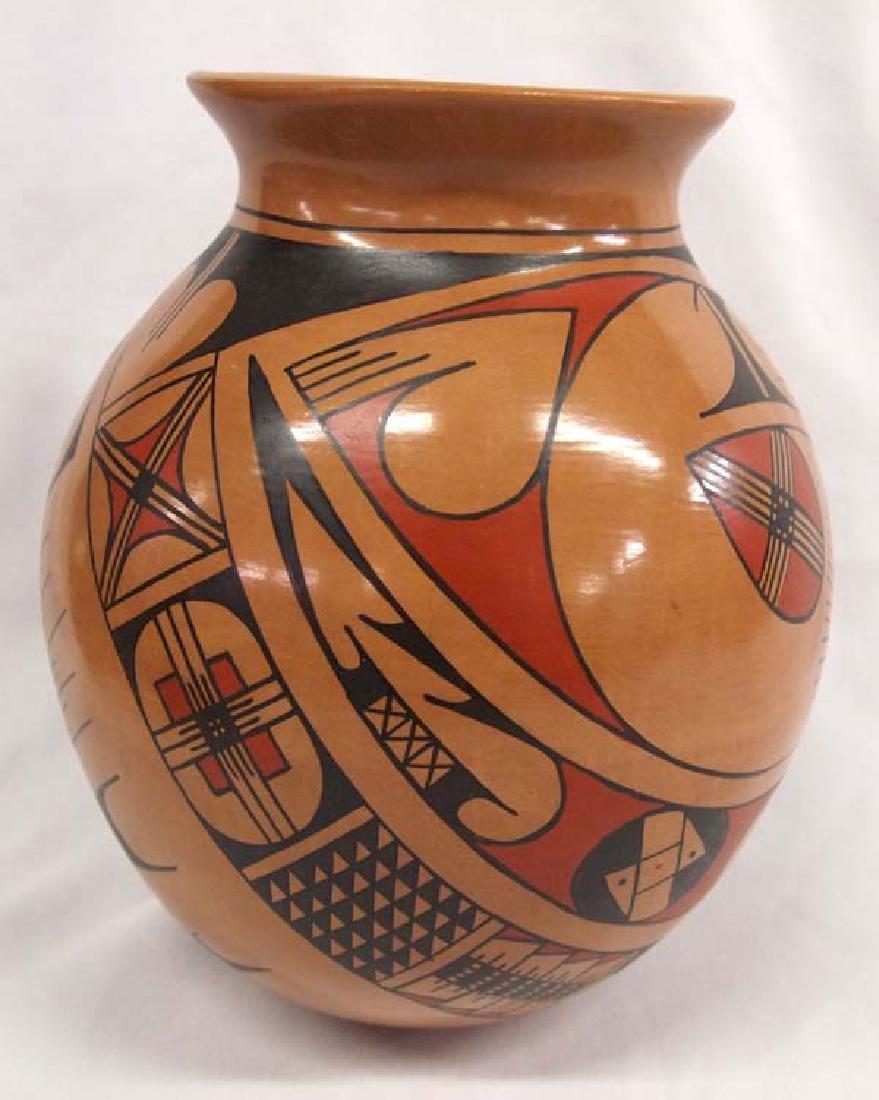Mexican Mata Ortiz Polychrome Pottery Jar - 2