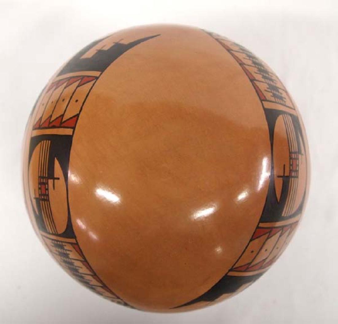 Mexican Mata Ortiz Polychrome Pottery Jar - 4
