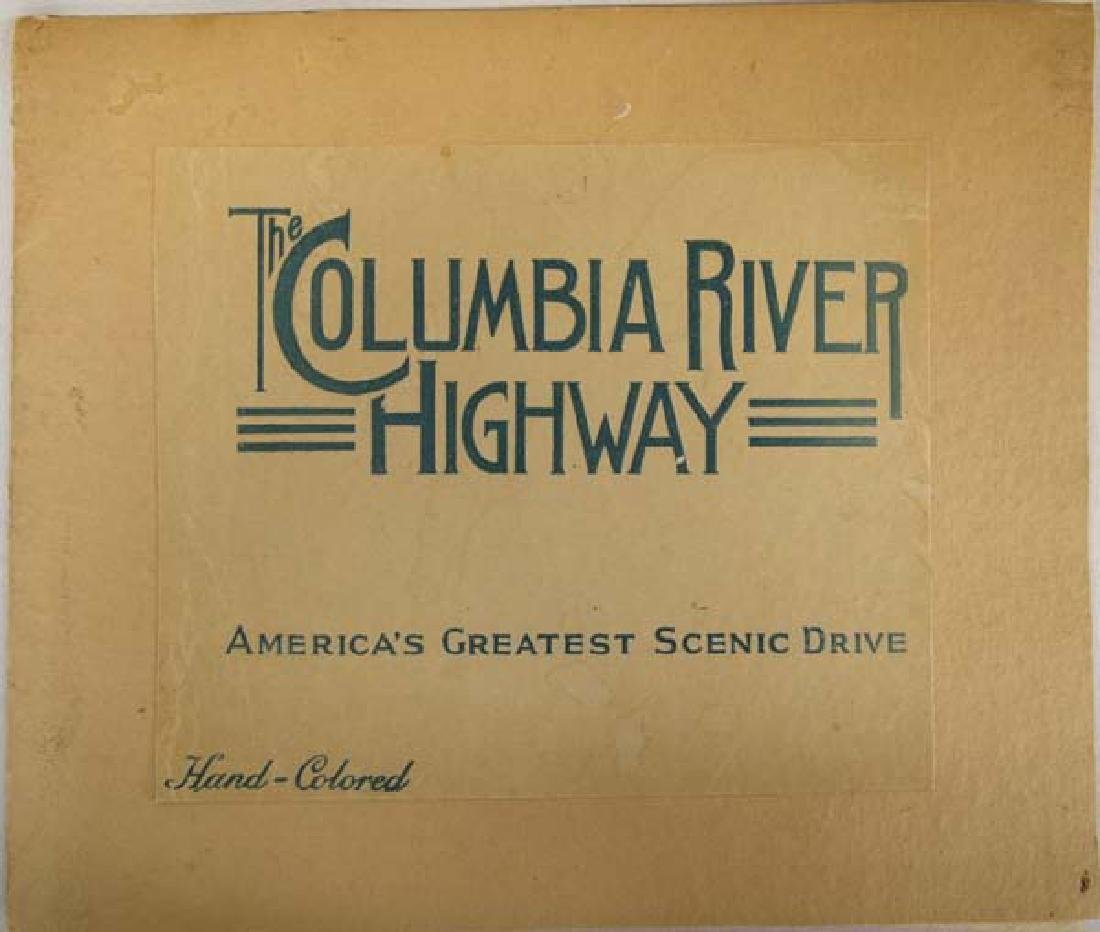Columbia River Highway Hand Colored Album