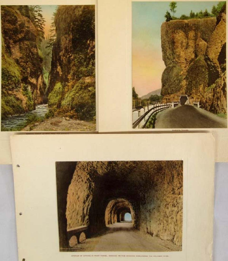 Columbia River Highway Hand Colored Album - 2