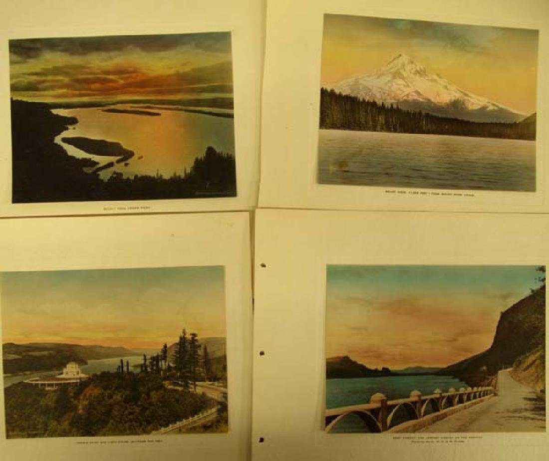 Columbia River Highway Hand Colored Album - 4