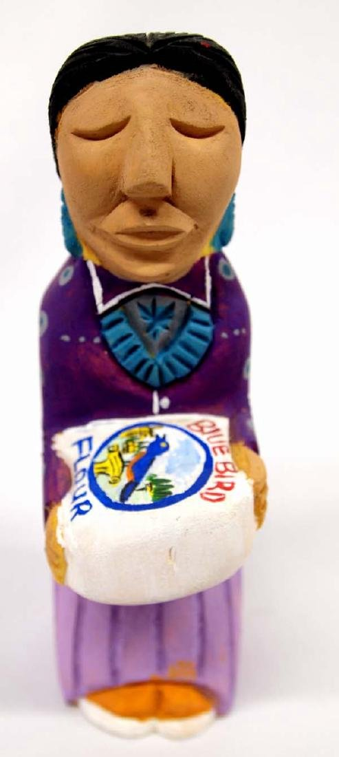2013 Navajo Carved Wood Folk Art by Harry Benally
