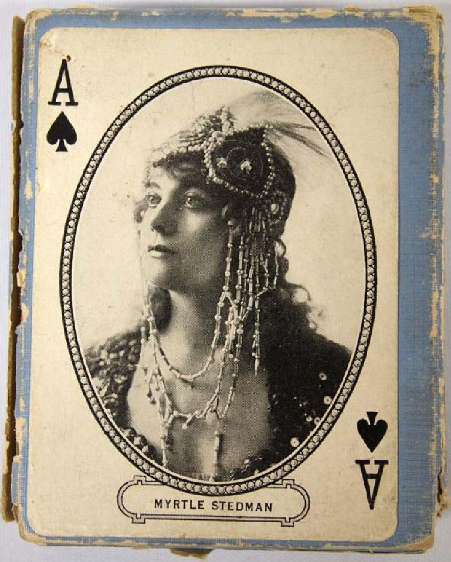 1916 MJ Moriarty Movie Souvenir Playing Cards - 4