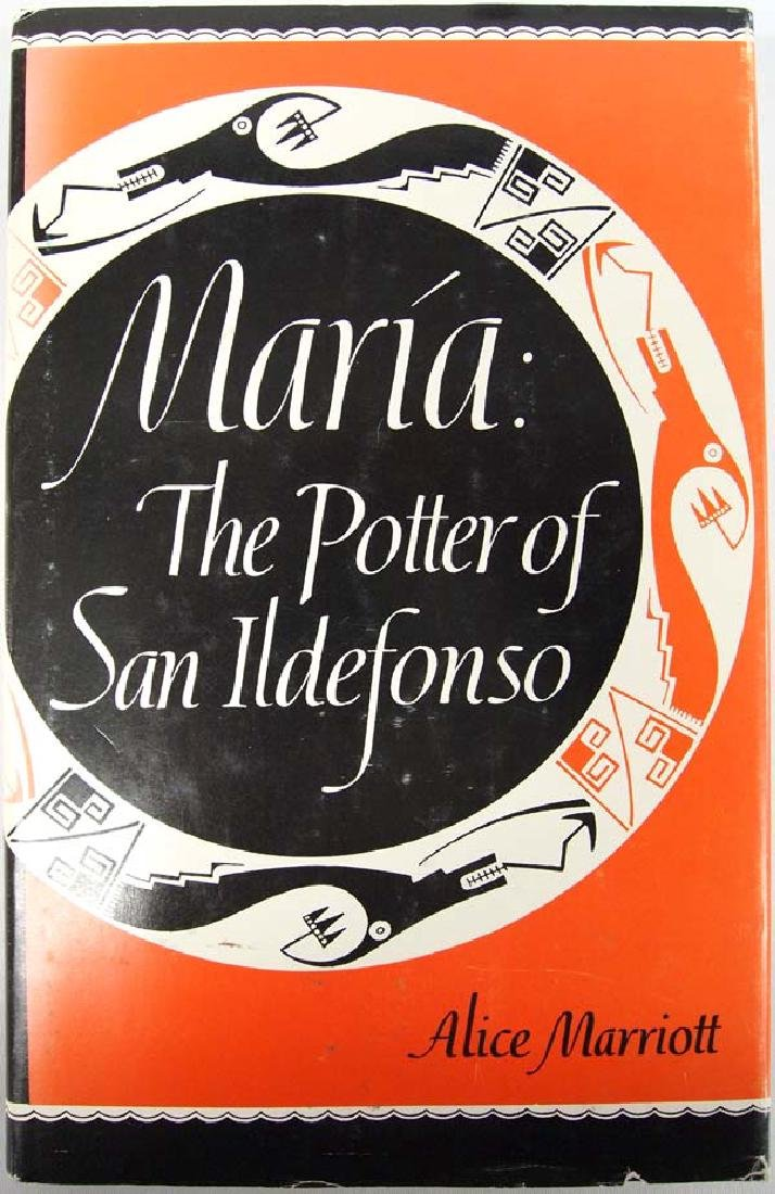 Maria: The Potter of San Ildefonso, Alice Marriott