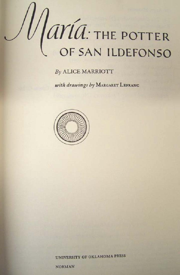 Maria: The Potter of San Ildefonso, Alice Marriott - 2