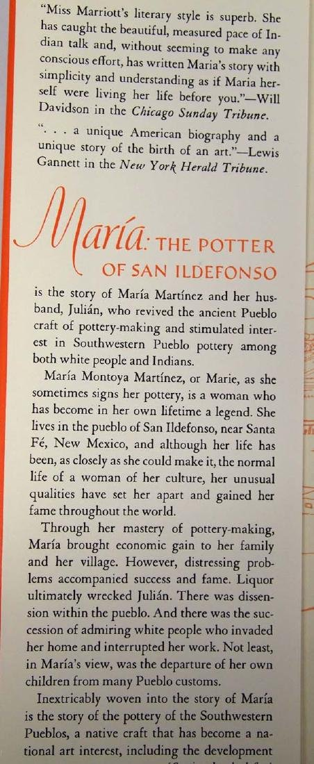 Maria: The Potter of San Ildefonso, Alice Marriott - 3