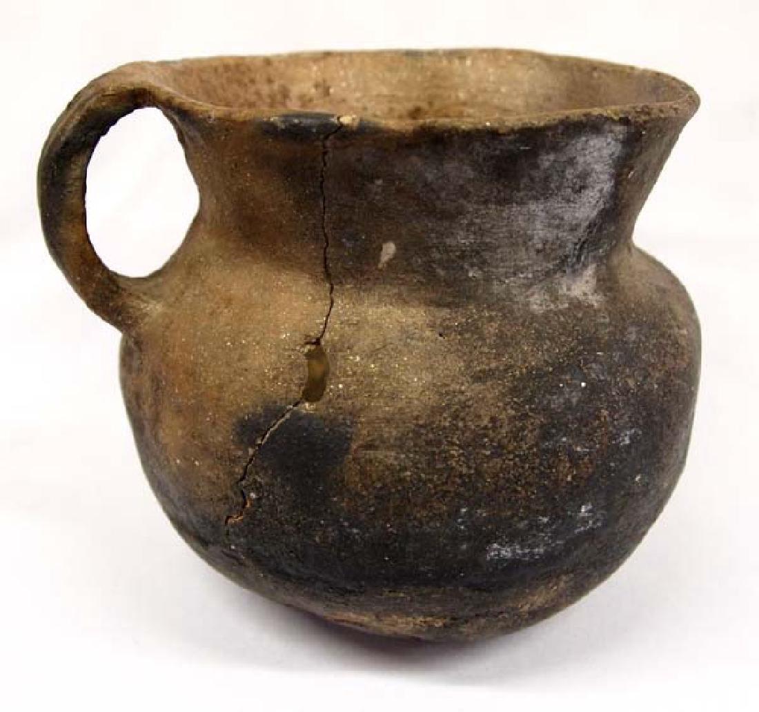 Vintage Native American Taos Pottery Pitcher - 3