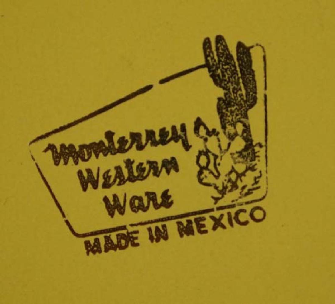 Vintage Monterrey Western Ware Tin Coffee Pot - 4