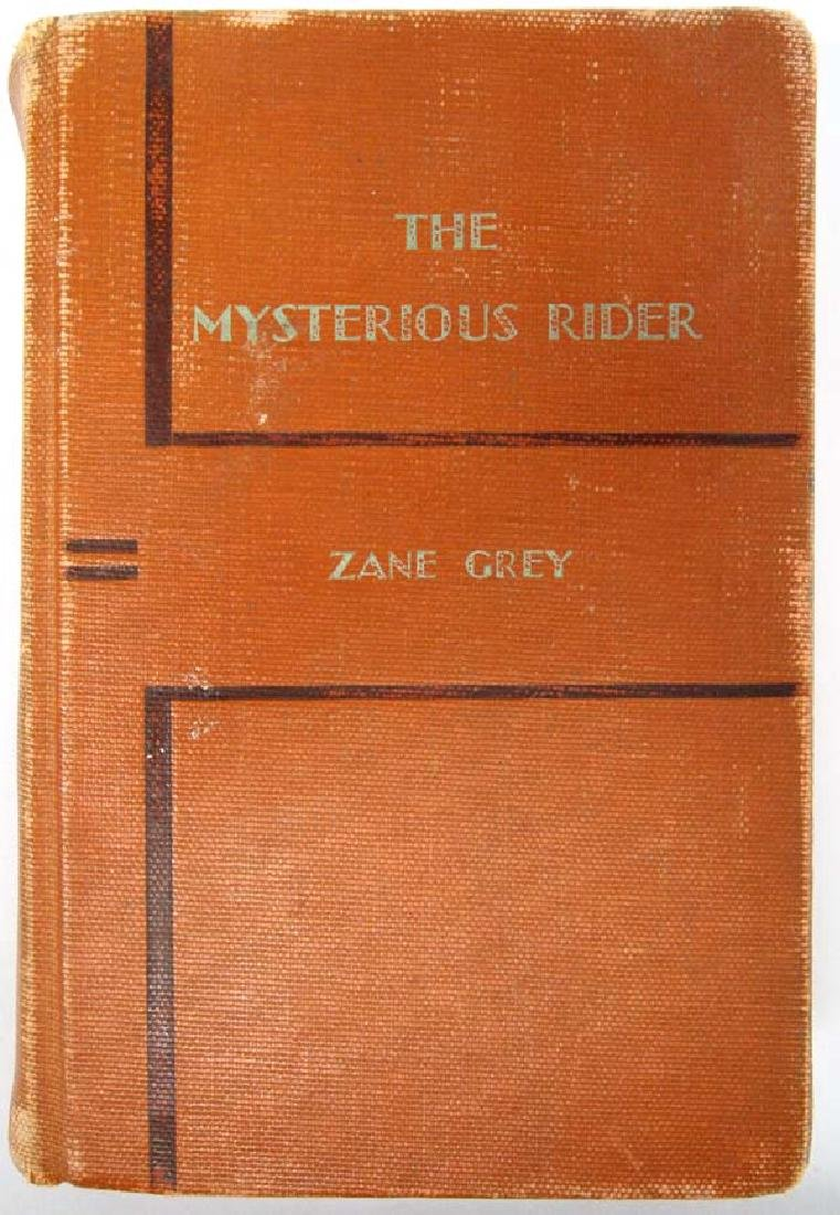 1921 The Mysterious Rider by Zane Grey, Hardback